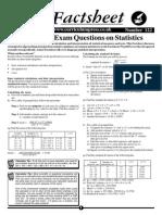 STATS Exam Questions!