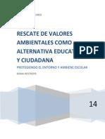 DENIA Proyecto Valores Ecolog