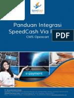Speedcash Plugin Manual Opencart
