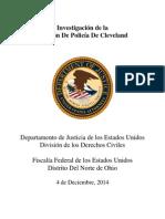 DOJ - Cleveland Resumen Ejecutivo, 2.4.2014