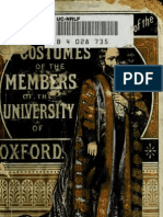 (1800) Shrimpton's Series of the Costumes of The members of the University of Oxford