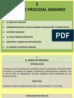 5. Derecho Procesal Agrario