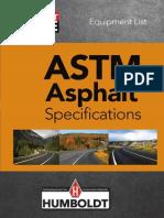 Humboldt ASTM Asphalt Specs