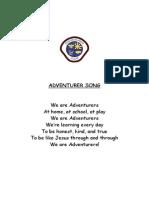 020 adventurer song we are adventurers