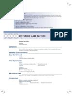 Disturbed Sleep Pattern Moyet