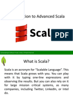 Introduction to Advanced Scala - SpringPeople