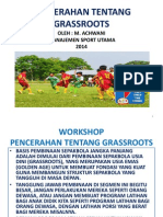 Pencerahan Tentang Grassroots.power Point