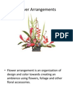Flower Arrangement Ppt