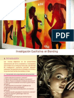 9. Investigación Cualitativa en Branding