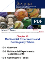 Chapter 10 Multinomial Experiments