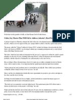 Critics Say Master Plan Will Fail to Address Jakarta's Real Problems - The Jakarta Globe
