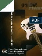 Guitar Master Introspection