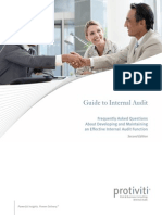 Guide to Internal Audit