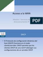 Modulo 7 Servicios de Direccionamiento IP