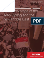 Media Coverage of the ArabSpring