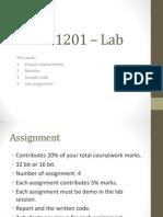Wres 1201 – Lab1