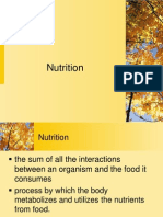 Nutrition(LECTURE)1