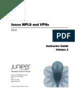 Juniper MPLS and VPNs