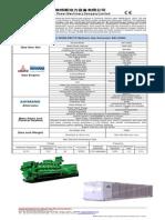 Datasheet of MWM-DeUTZ Gas Generator EM-1250N