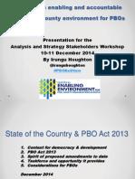 PBO Amendments Presentation by Irungu Houghton