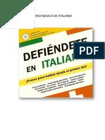 Curso Basico de Italiano Del 1 Al 40
