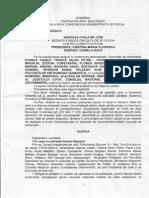 Sentinta 2790 CAB anulare secretizare norme salarizare politisti