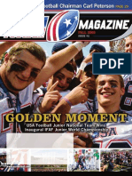 USA Football Magazine Golden Moment  Issue 11 Fall 2009
