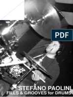 Stefano Paolini - Fills & Grooves for Drums
