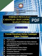 Format Penghasilan Kajian Tindakan