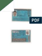 Documentos de Identidad