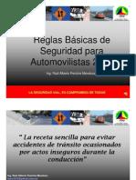 NETWORKVIAL LAS 13 REGLAS BASICAS DE SEGURIDAD VIAL PARA AUTOMOVILISTAS 2007