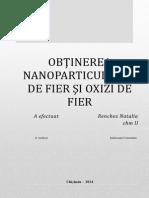 Nanoparticule de Fier RENCHEZ