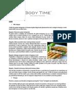 Asocierea corecta a alimentelor. Plan Alimentar Pentru o Saptamana