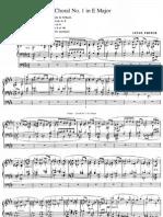 Choral No.1 in E Major