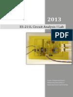 Circuit I Lab Manual -- 2013 Backup