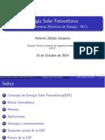 Estado actual de la ESF en España
