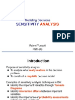 11 12Sensitivity Analysis