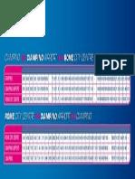Ciampino Timetable