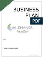 Proposal Business Plan Al KHANSA TOUR & TRAVEL