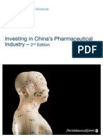 Pharma Investing in Chinas Pharmaceutica
