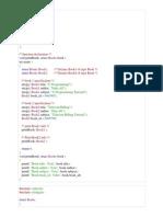 Structures program