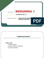 Mehanika 1-Predavanje 4