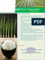 9th December,2014 Daily Global Rice E-Newsletter by Riceplus Magazine