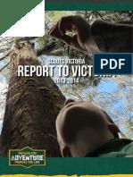 Report to Victoria - Annual Report 2014