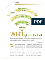 Wi-Fi Lightens the Load