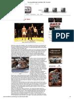 MMA Athlete Interview