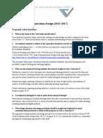 Q&A VisualCommunicationDesignFAQ
