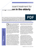 Antidepresant in Elderly