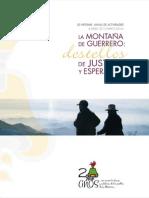 La montaña de Guerrero, destellos de justicia y esperanza