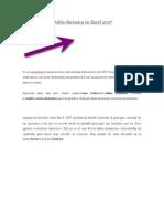 Como Crear Una Tabla Dinámica en Excel 2007